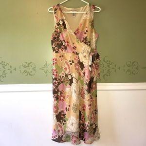 Merona floral dress, size 10